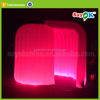 inflatable photo booth shell led inflatable cube tent lighting used photo booth for sale