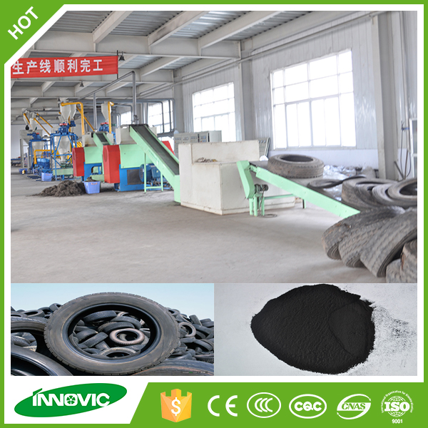 China Supplier Hot Sale Rubber Old/used/waste Tire Recycling ...