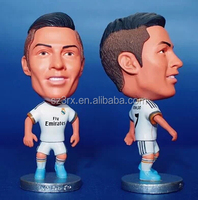 Football Player Dolls Available figure models MESSI ROONEY RONALDO, custom famous star football dolls