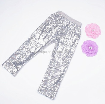 4a501fcc70485 New Design Children Girl Pants White Sequin Leggings For Kids - Buy ...