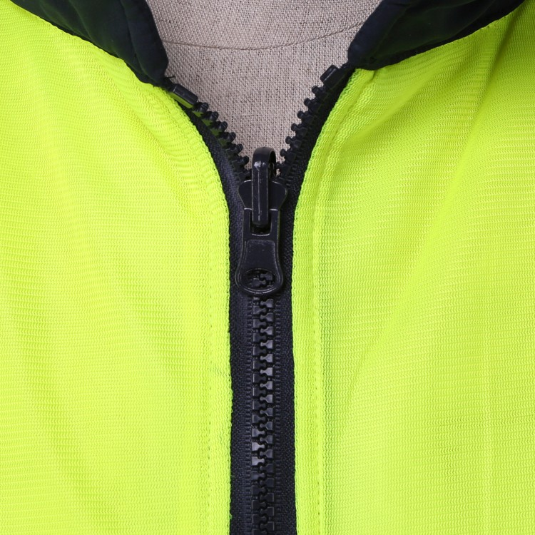 unisex safety vest with reflective strip