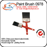 Brush Factory China Plastic Handle Paint Brush Set