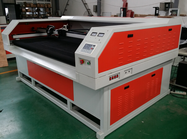 1800*1000 CO2 laser cutting machine price laser cutting machine for fabric textile apparel wood varies working sizes feeding