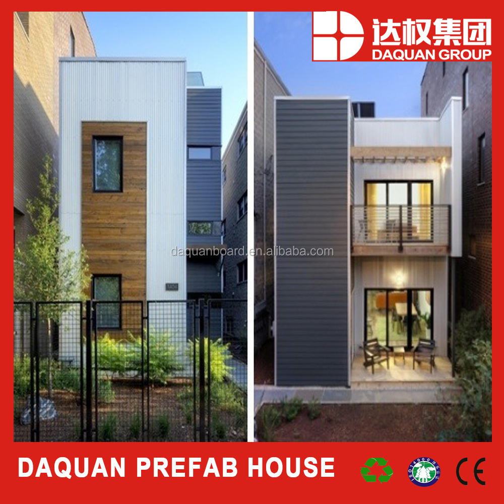 two floors prefabricated/prefab/modular apartment/villa/house