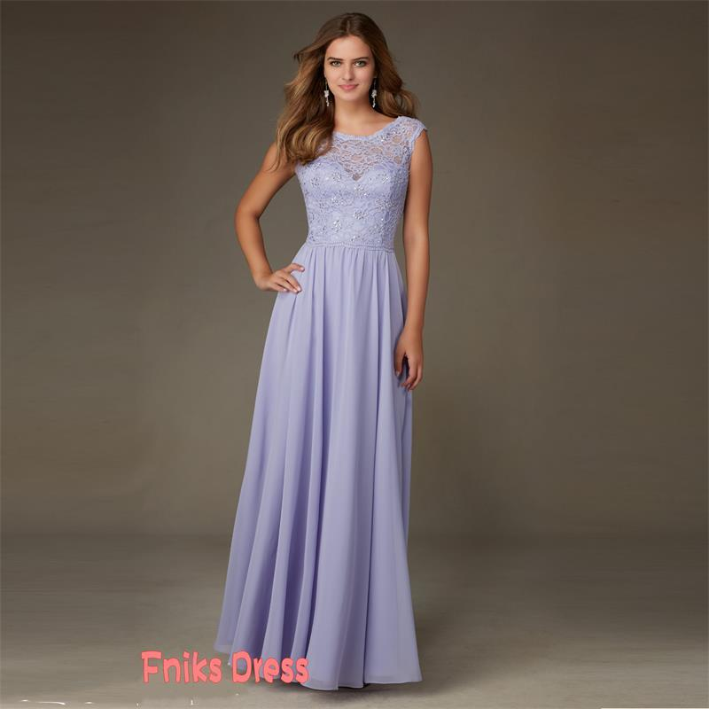 Popular Lilac Junior Bridesmaid Dresses-Buy Cheap Lilac ...