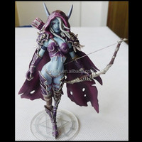 games World of Warcraft sexy girl Action PVC Figure Toy,custom 3d pvc action figure,custom 3d pvc sexy girl cool action figure