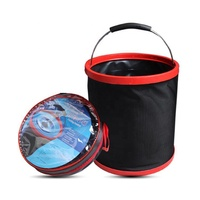 High quality oxford foldable12L car wash bucket