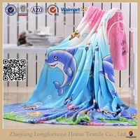 china supplier baby soft thick fleece blanket