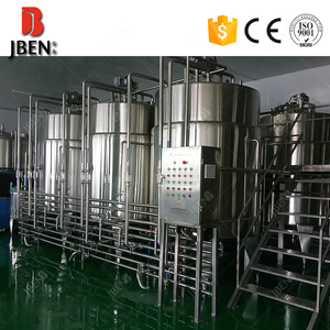 Professional Manufacture Pasteurized Cow Milk Production Line For Coconut Milk