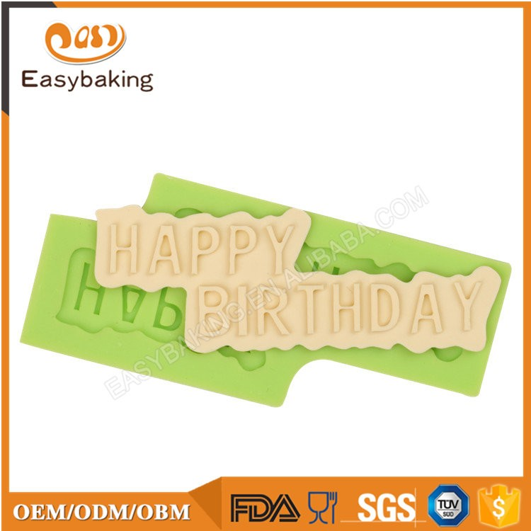 ES-6106 Fondant Mould Silicone Molds for Cake Decorating