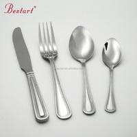 Wholesale Stainless Steel Dinnerware Sets Knives Spoons Forks Hotel Tableware