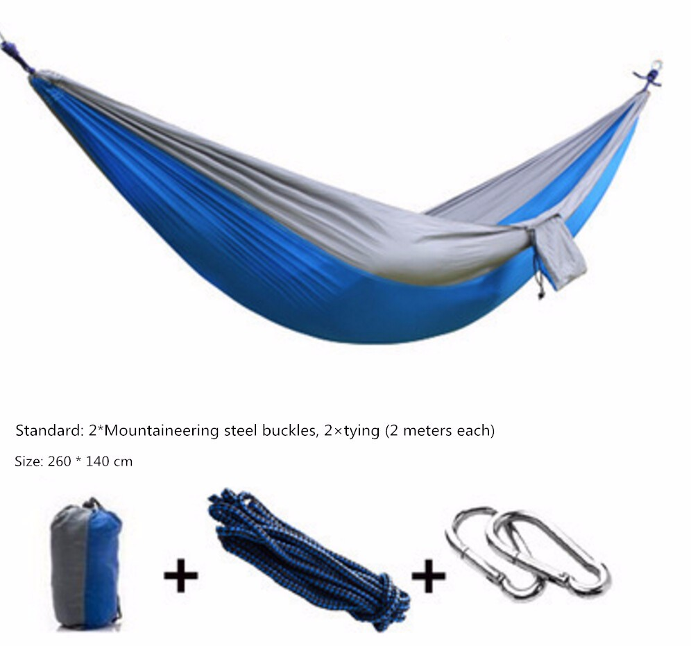 Wholesale High quality nylon Double Camping Hammock Chair With Stand Alibab