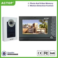 Home security access control system door camera for family ,support 4pcs CCTV camera