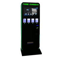 Apple type vending machine for phone charges