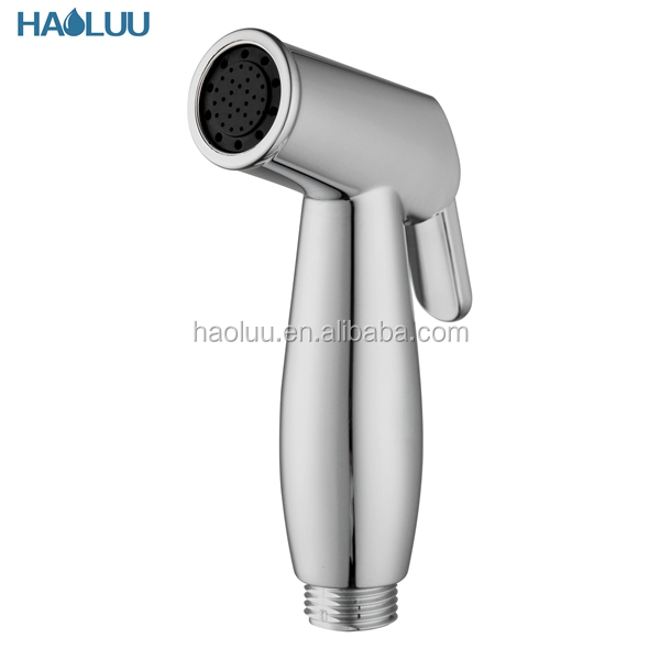 HL56705 hot sale ABS mirror finish water saving shattaf