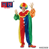New Design high Christmas quality clown costume adult for wholesale