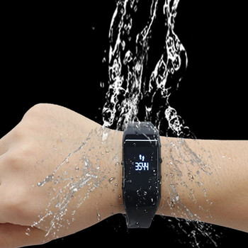 New arrivals 2018 sport smart bracelet fit bit watch with heart rate monitor