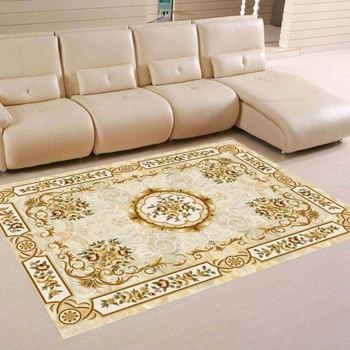Qinyi New Carpet Persian Bokhara Rug Room Bath Mat