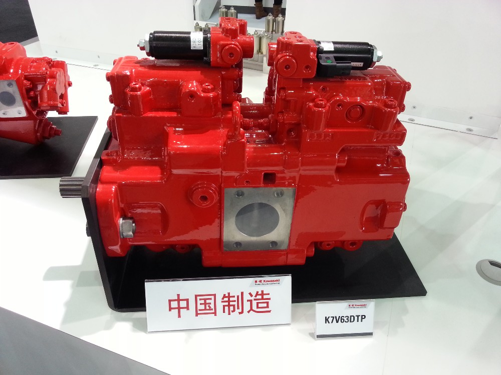 K7V63DTP174R main pump SK135SR-2 hydraulic main pump KPM main pump