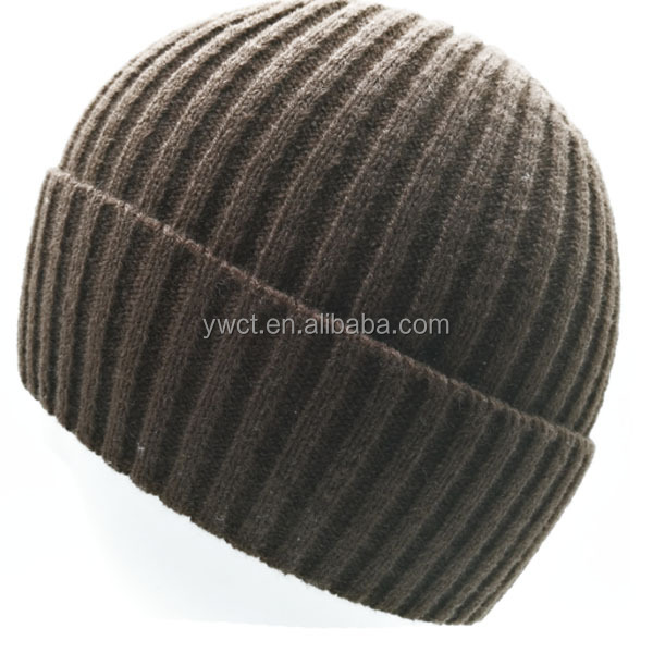 51fed1fa450 Custom Knit Cap Wholesale Acrylic Cc Beanie Cashmere Hat For Adult ...