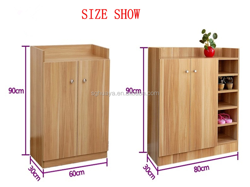 Modern Wood Shoe Cabinet For Living Room Furniture/Melamine Shoe Cabinet,shoe  Rack, Part 37