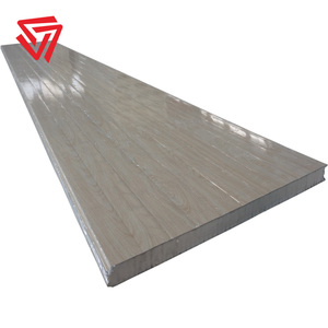 perforated corrugated metal composite PU sandwich panels