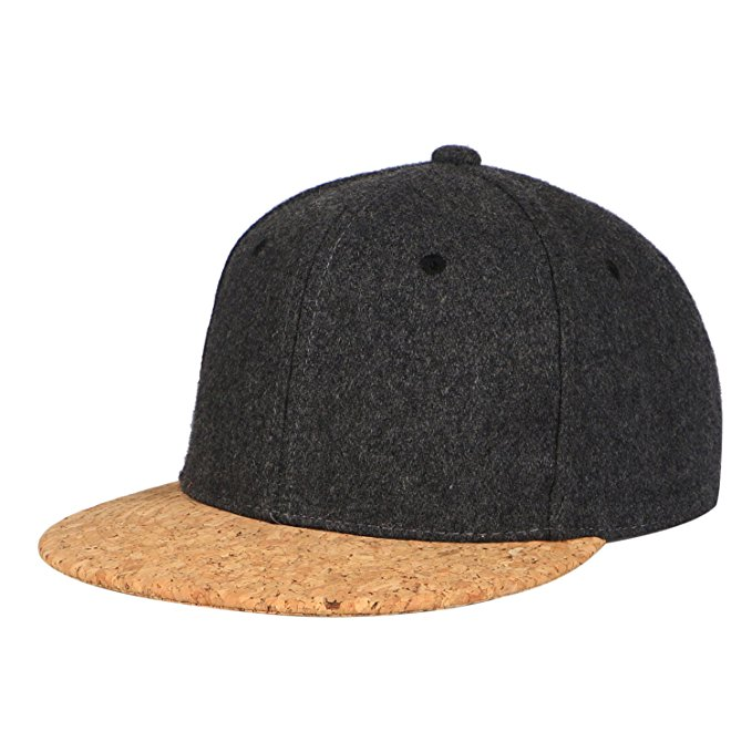 Customize Top Quality Newest Fashion Design Snapback Hats for Men Women Cork Flat Bill Adjustable Baseball Caps