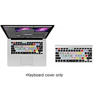 Editors Keys Premiere Keyboard Cover | Shortcut Printed Cover for MacBook Air Pro Wireless Keyboards
