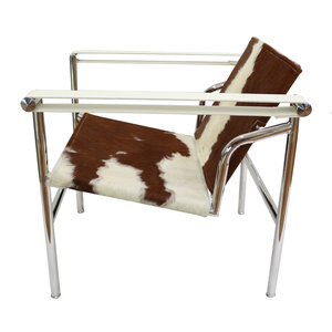 High Quality Le Corbusier LC1 Chair In Cowhide Genuine Leather