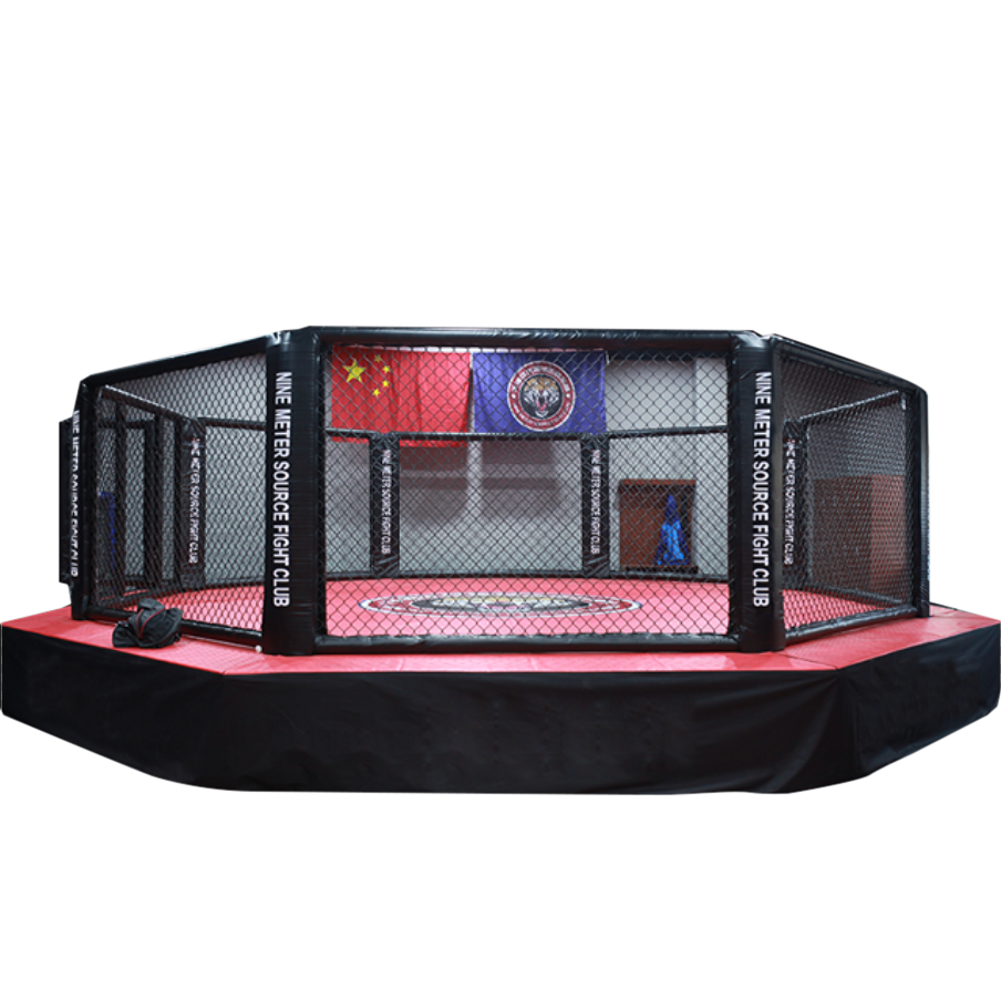 ROCSON OCTAGON HEXAGON BOXEN FLEXI ROLL MMA RING UFC CAGE MMA CAGE 5 * 5 * 60