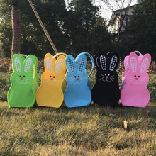 Wholesale 2018 cheap easter gifts personalized cute bunny easter basket