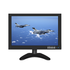 HOPESTAR Small Size 10 inch LED PC Monitor 16:9 10.1 inch Mini IPS LCD CCTV Monitor