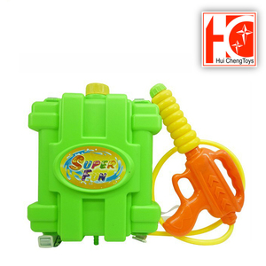 plastic outdoor interactive toy backpack water gun for kids