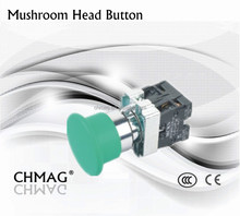 40mm Mushroom Head Button Control button switch ON-OFF 660V 10A Switch