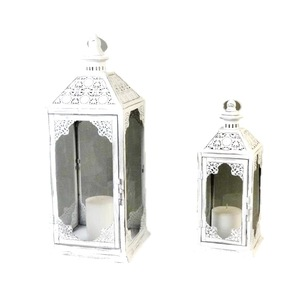 Hot Sale White Morocco Candle LED Lantern For Wedding Home decor With  Reasonable Factory Metal Lantern Price