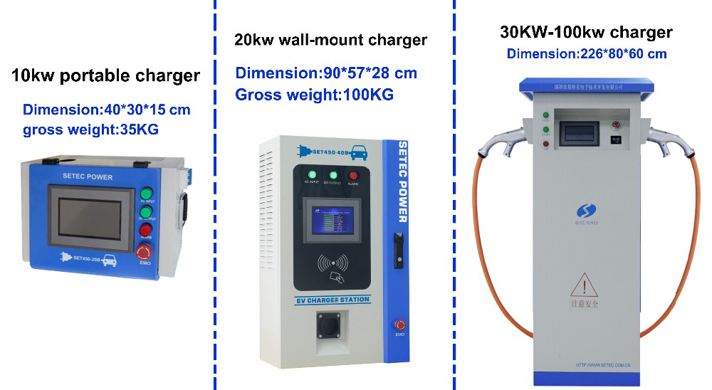 750vdc Electric Bus Fast Charger 10kw To 100kw