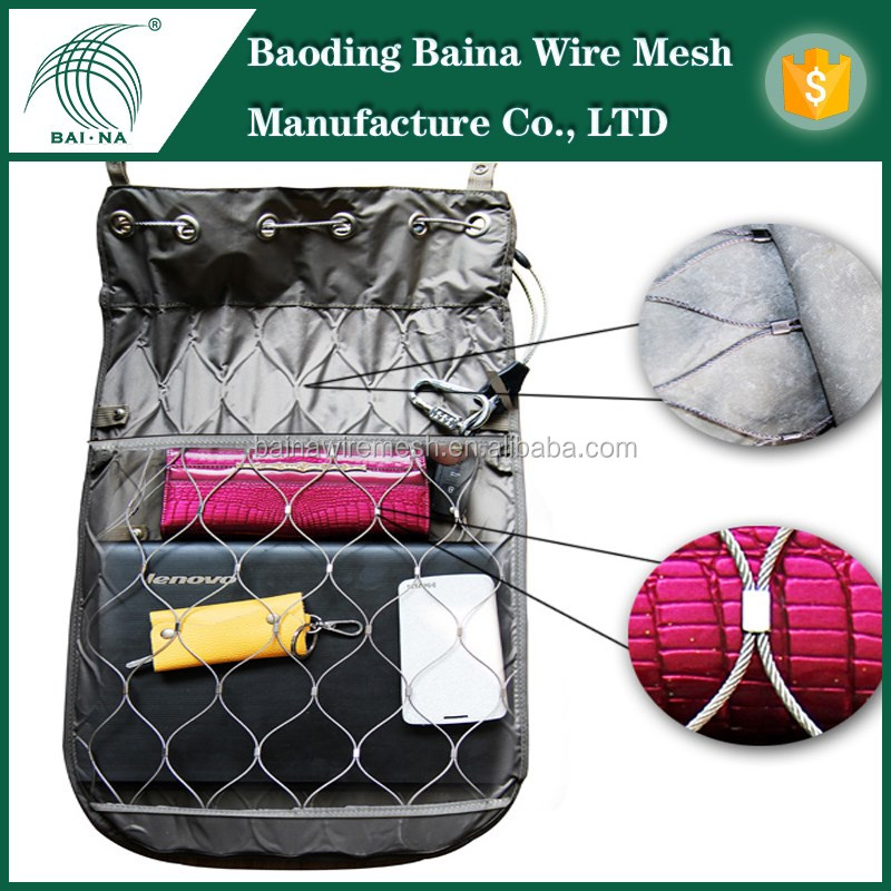 Backpack / Bag Protector(china Supplier) With Stainless Steel Wire ...