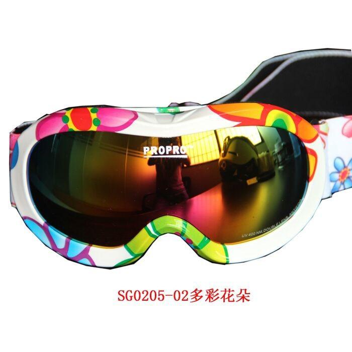 e7acd73217dc Boys and Girls Eyewear Snow Sports Goggles Anti-fog UV Protective dual lens  anti fog