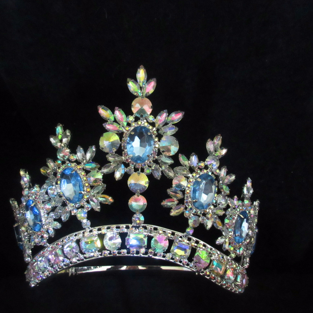 Beauty pageant crown & tiara, beauty queen diamond pageant crown