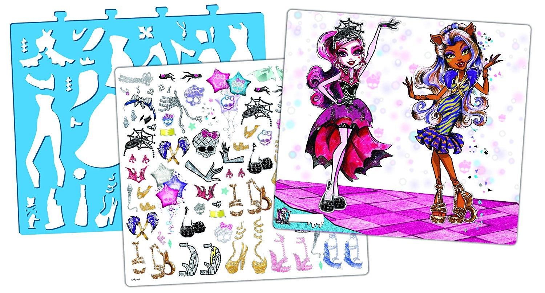 Fashion Angels Monster High Design Portfolio
