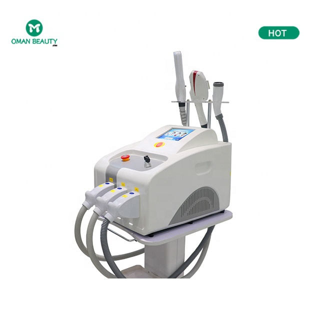 Professional laser facial body skin freckle/hair removal/whitening radiofrequency beauty equipment