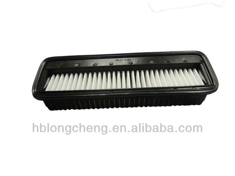 Auto Air Filter Car Spare Parts 28113 OX100