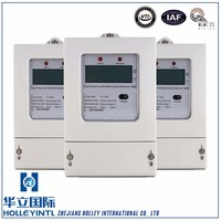 Per phase current and current angle Three-Wire Ac Active Electric Meter