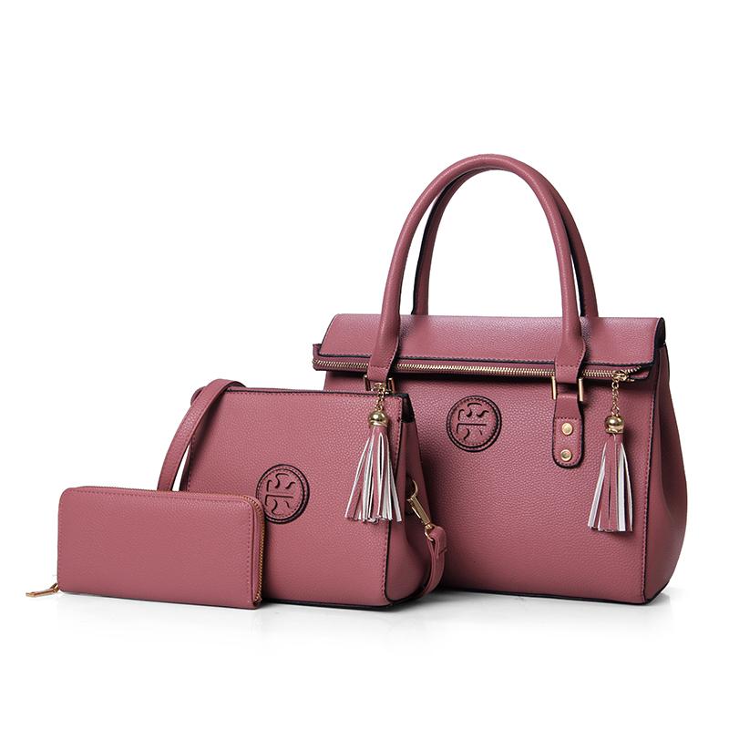 Оптовая продажа, хит продаж, дешевая металлическая молния, кисточка, сумка из искусственной кожи, сумки через плечо, женские ручные сумки для женщин
