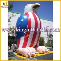 Guangzhou Customized Inflatable Animal, PVC Giant Inflatable American Eagle For Sale