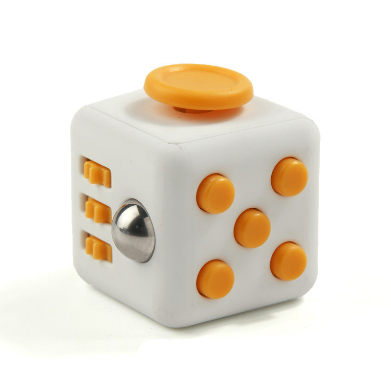 In Stock! polychrome stress cube, polychrome magic cube, fidget cube mix colors