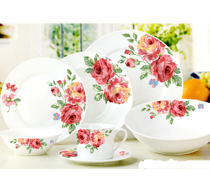 Venda de Hot long Life 30Pcs Conjuntos de Jantar de Porcelana