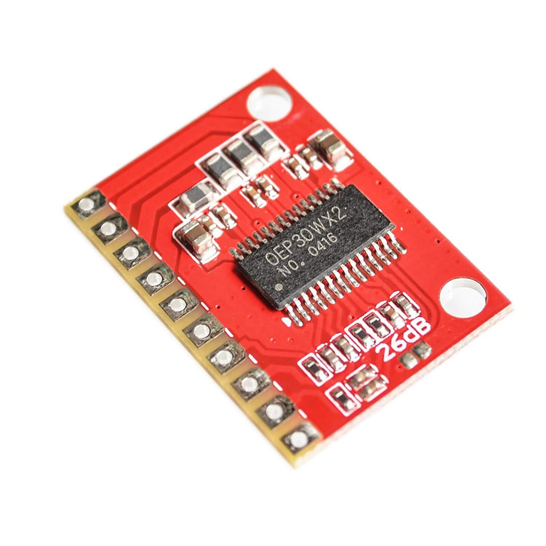 AEEDAIRY 5PCS/LOT OEP30W2 Double Channel Digital Amplifier Board Module Diy Amplifier Kit 30Wx2 D Class