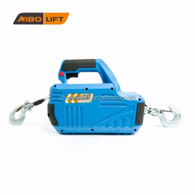 Power tool electric hoist with capacity 1000lbs from selected supplier