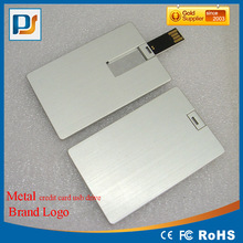 DIY Logo Print Credit Card Blank USB 2.0 Flash Pen Drive Customize Memory Stick